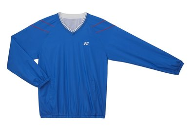 YONEX V-NECK WIND SHIRT U9434 SHINE BLUE